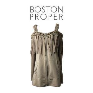 Boston Proper Sport Sweatshirt Sz M